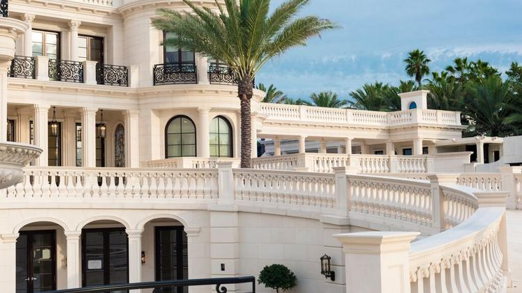 le palais royal mansion in hillsboro beach listed for 159m most expensive home in united. Black Bedroom Furniture Sets. Home Design Ideas