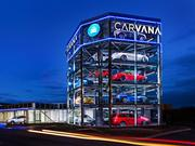 Carvana opened the world's first fully-automated, coin-operated car vending machine Nov. 12 in Nashville.