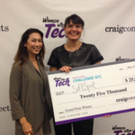 This startup just took first place — and $25K — in the Women Startup Challenge