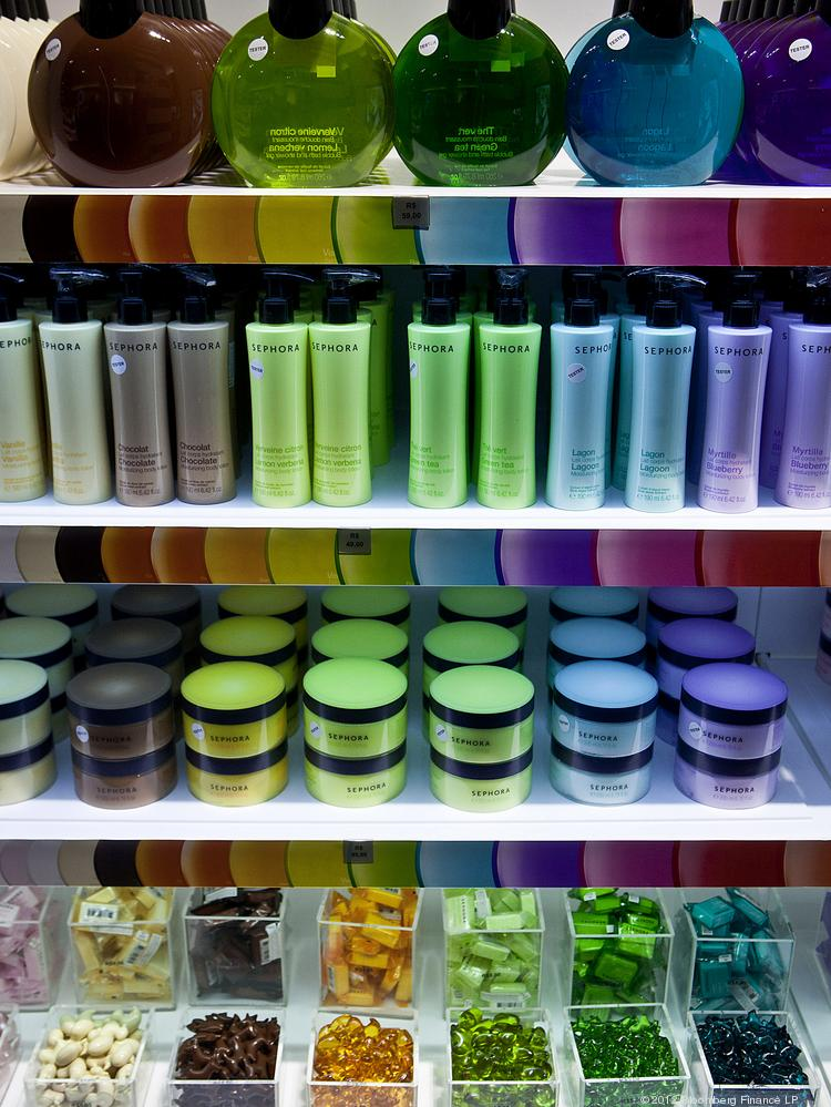 Milwaukee-based Sensient Technologies makes colors, flavors and fragrances for a variety of industries, including the cosmetics industry.