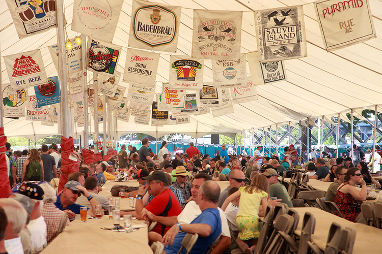 More than 85,000 brewers attended the 2013 Oregon Brewers Festival.
