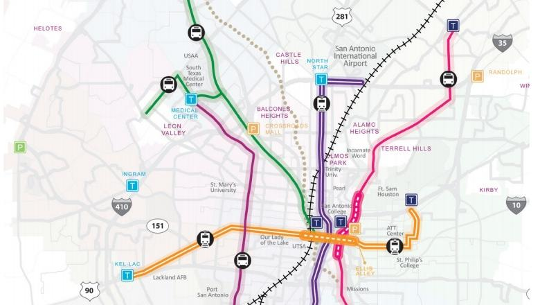 VIA Metropolitan Transit considering downtown-to-airport light rail ...