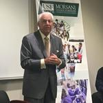 Why the namesake for USF medical school changed his mind about a move to downtown Tampa