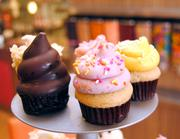 There is no limit to the flavor creations and, at times, no end to the wait at the front counter. Cakes come in mini and large sizes. And, for especially fierce sweet fixes, there's also a frozen yogurt counter. It's not just a sweet stop, it's a vacation.