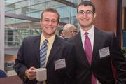 Sam Weiland, senior accountant, Hertzbach & Company PA; and Zachary Mainstain, manager, PL Consulting.