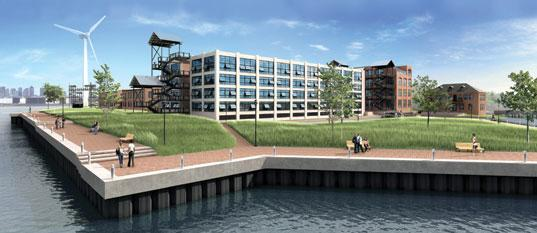 An artist rendering of Forbes Park. The bank bought it at auction.