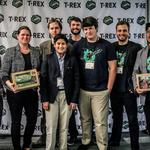 The winners at Startup Weekend