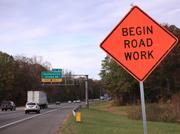 Construction on the I-77 toll lanes began in November.