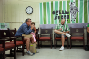 Would-be vendors wait for a chance to share their products with Green Zebra Grocery during a  vendor fair held Thursday at the Portland company's future store on Southeast Division Street.