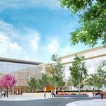 San Mateo's Bay Meadows revs up with second spec office building