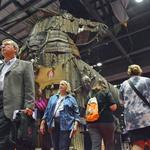 The Walking Dead, a Christmas rhino and 23 other photos from IAAPA