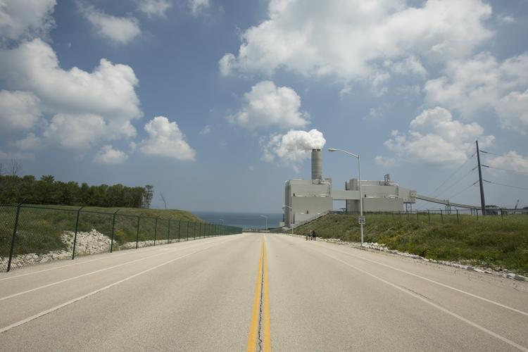 The We Energies power plant in Oak Creek provides income for the community to use to support development in the city.