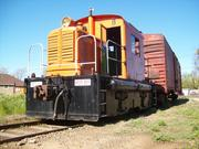 The Weyerhaeuser Skagit motorcar is a rail vehicle formerly used for carrying loggers. Today it carries passengers for the Placerville & Sacramento Valley Railroad.