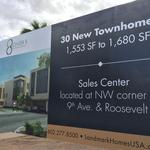 Urban townhouses slated for downtown Phoenix