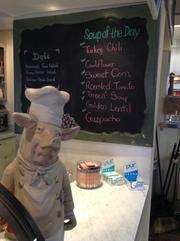 Soups of the day