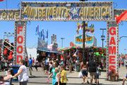 The Midway is the center of attention at the Ohio State Fair.