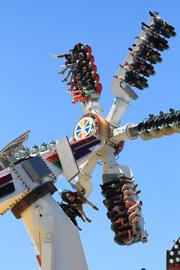 The Hi Roller is a new ride this year and not for the faint of heart.