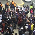 PHL airport workers walk off the job