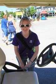 A special shout-out to Marissa McDaid, a senior at OU majoring in journalism, for driving me around the fair in a golf cart making my job a little easier. Marissa is an intern working in the fair's media department.