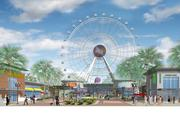 Unicorp National Developments Inc. has plenty going on with its International Drive projects, including construction on the foundations of The Orlando Eye observation wheel.