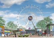 Unicorp National Developments Inc. wants to open the 425-foot Orlando Eye observation wheel on New Year's Eve 2014.
