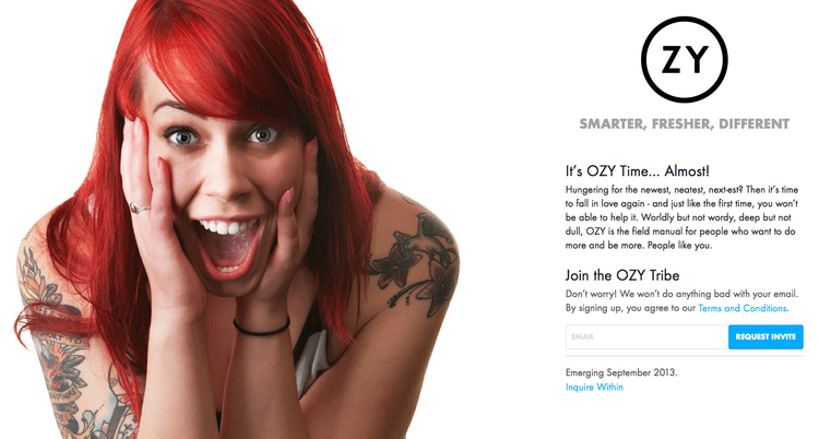 A look at Ozy Media, which launches in September.