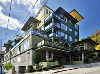 HomeStreet Bank of Seattle has decided to finance the construction of condos again. The bank financed this project in the Queen Anne area of Seattle in 2004.