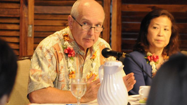 John Dean, CEO of Central Pacific Bank, has resigned from the University of Hawaii Board of Regents, along with regent Saedene Ota, because of a law passed by the Legislature this year that would require them to make their financial disclosure statements available to the public as well as to the Hawaii State Ethics Commission.