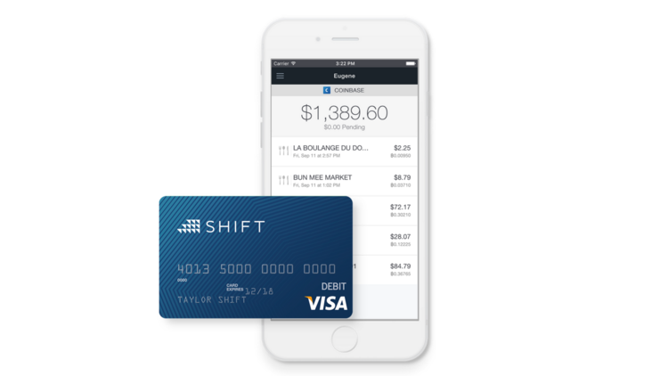 On Friday November 20 2015 Coinbase Debuted Its Shift Debit Card That Lets Users
