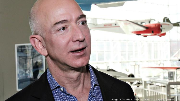 Amazon CEO Jeff Bezos presented at the annual shareholder meeting, where Sum Of Us read its human rights proposal.