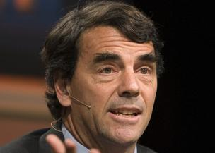 Tim Draper, managing partner of Draper Fisher Jurvetson, speaks during a panel discussion at the Milken Institute State of the State conference in Los Angeles, California, U.S., on Tuesday, Oct. 19, 2010.