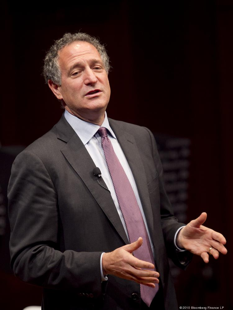 Bloomberg LP CEO Daniel Doctoroff, who advocated for standardized sustainability reporting for public companies. Doctoroff was speaking to a group of data scientists about the potential for data to align investors' interests with corporate-backed social causes.