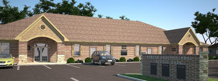 A rendering of the new office development planned for Kemper Road in Symmes Township.