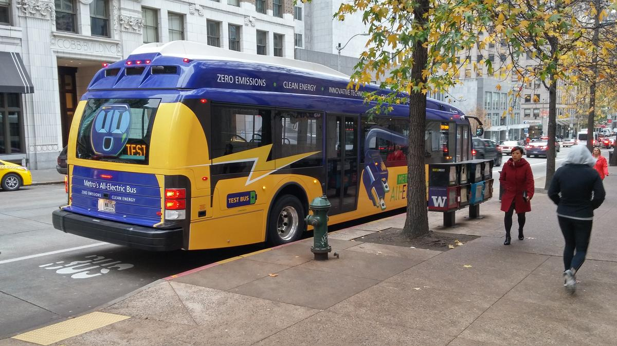 King County Metro Starts Testing 100 Electric Buses In Seattle