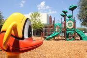 New outside play area at Metropolitan Ministries