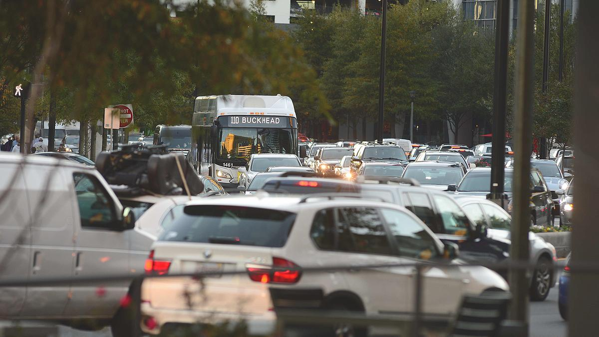 Buckhead traffic may be reaching a tipping point - Atlanta Business