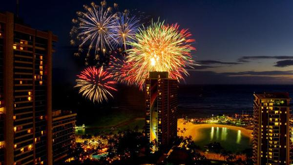 The Hilton Hawaiian Village Waikiki Beach Resort is canceling its Friday night fireworks show on the Fourth of July.