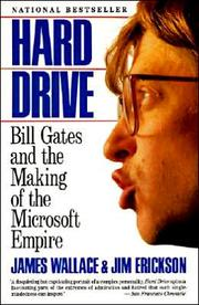 "Hard Drive: Bill Gates and the Making of the Microsoft Empire by James Wallace and Jim Erickson Amazon link Amazon's description:""The true story behind the rise of a tyrannical genius, how he transformed an industry, and why everyone is out to get him. In this fascinating exposé, two investigative reporters trace the hugely successful career of Microsoft founder Bill Gates. Part entrepreneur, part enfant terrible, Gates has become the most powerful -- and feared -- player in the computer industry, and arguably the richest man in America. In Hard Drive, investigative reporters Wallace and Erickson follow Gates from his days as an unkempt 13-year-old computer hacker to his present-day status as a ruthless billionaire CEO. More than simply a 'revenge of the nerds' story though, this is a balanced analysis of a business triumph, and a stunningly driven personality."""