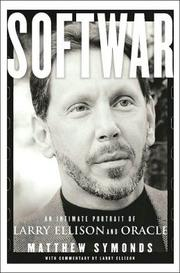 "Softwar: An Intimate Portrait of Larry Ellison and Oracle by Matthew Symonds Amazon link Amazon's description: ""In a business where great risks, huge fortunes, and even bigger egos are common, Larry Ellison stands out as one of the most outspoken, driven and daring leaders of the software industry. The company he cofounded and runs, Oracle, is the No. 1 business software company. Perhaps even more than Microsoft's, Oracle's products are essential to today's networked world.  In Softwar, journalist Matthew Symonds gives readers exclusive and intimate insight into both Oracle and the man who made it and runs it. As well as relating the story of Oracle's often bumpy path to industry dominance, Symonds deals with the private side of Ellison's life. With unlimited insider access granted by Ellison himself, Symonds captures the intensity and, some would say, the recklessness that have made Ellison a legend."""
