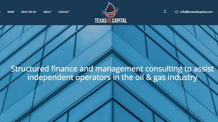 Texas Oil Capital to provide CFO services to help struggling
