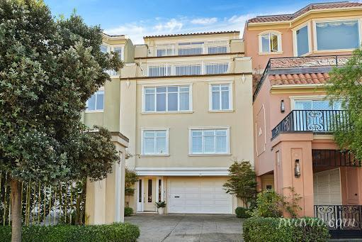 """Most expensive Sunset rental: This four-level home comes furnished and """"sleeps 12,"""" which kind of justifies its $18,000 per month price tag for three bedrooms and 2.5 bathrooms. See the listing."""
