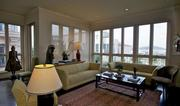 Most expensive two-bedroom: This unit also comes furnished and will cost you $14,000 per month for two bedrooms and two bathrooms.  See the listing.