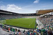 Jeld-Wen Field, home of the Portland Timbers Renovation completed: 2011 Renovation cost: $36 million Capacity: 19,000