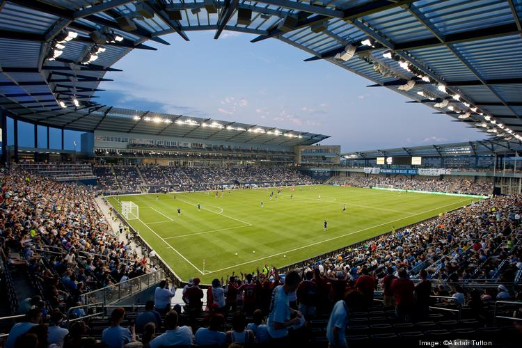 Minnesota United FC officials were at Sporting Park in Kansas City, Kan., on Saturday to tour the facility and watch the MLS Cup championship game.