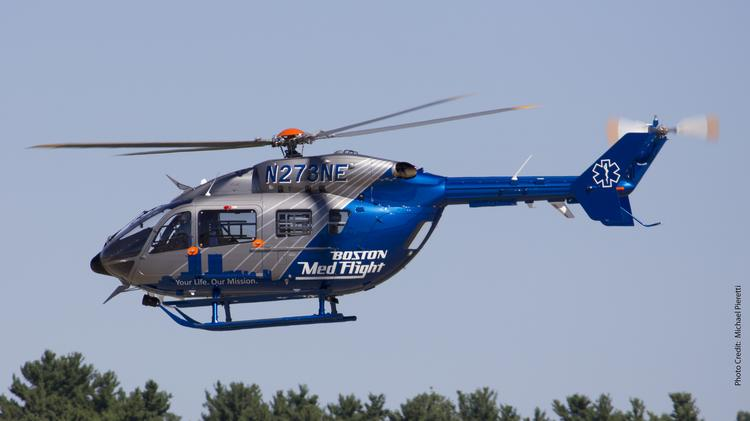 Why Are Helicopters Flying Over Boston Today >> Faa Approval Clears Path For Boston Medflight Boston Business Journal
