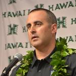 University of Hawaii introduces new head football coach Nick Rolovich: Slideshow