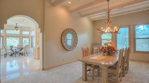 High Desert Rutledge Home Backing to Open Space!