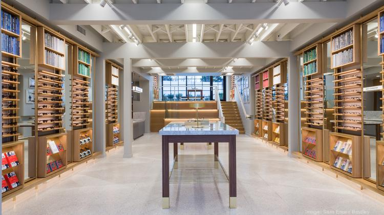 The Interior Of Warby Parkeru0027s New Retail Store In Nashville, At 1207 Villa  Place.