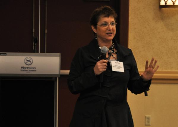 M.J. Tocci, cofounder and director of the Heinz Negotiation Academy for Women at Carnegie Mellon University.