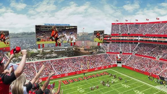 Tampa City Council Gives Tampa Bay Buccaneers The Green Light To Make $100M  In Raymond James Stadium Improvements   Tampa Bay Business Journal